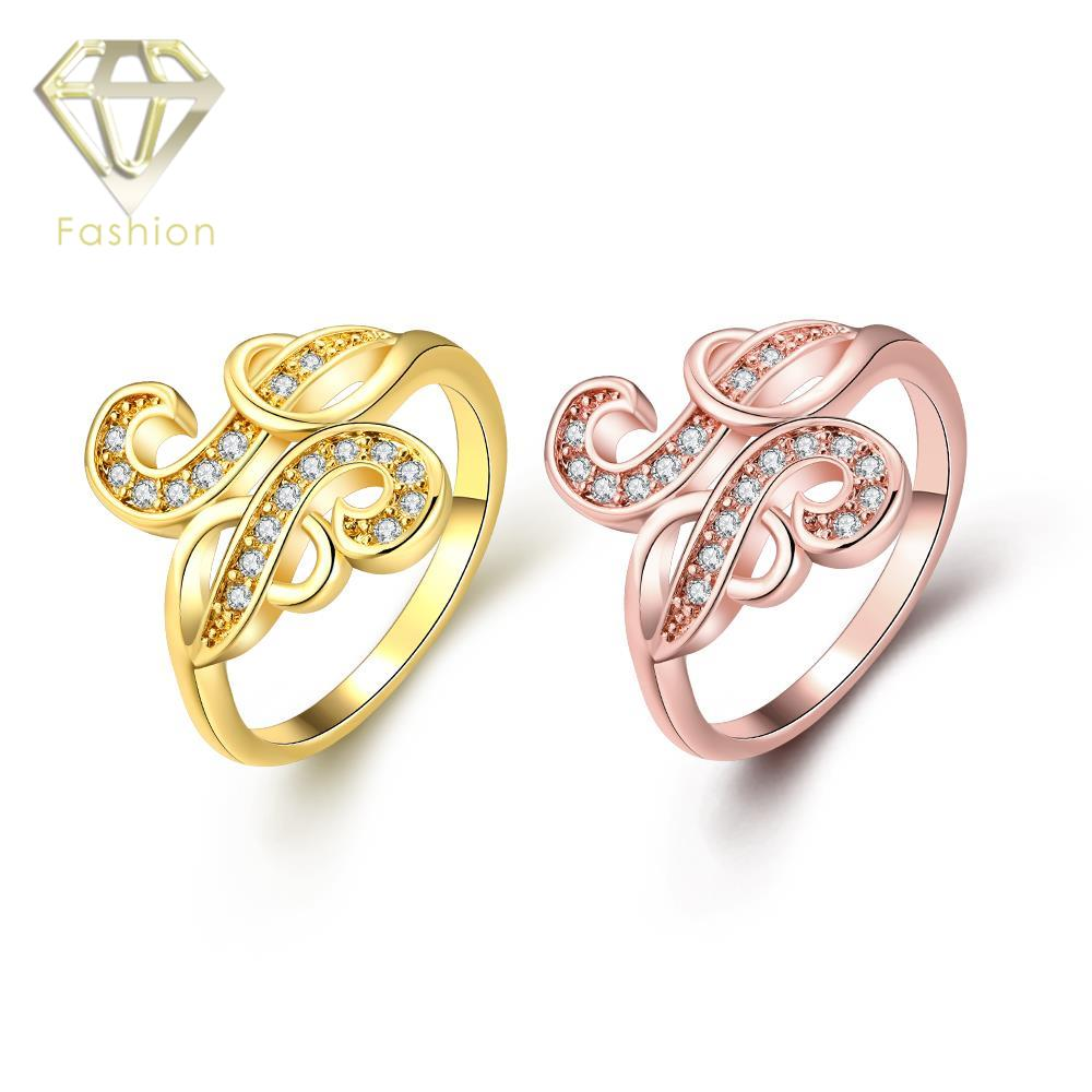Indian Gold Jewelry Cool Geometric Design Inlaid Cubic Zirconia Rose Color Wedding