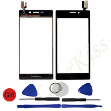 Touch Screen Sensor Protective Glass Lens For Sony Xperia M2 Aqua D2403 D2302 D2303 D2305 D2306 S50H Digitizer Panel Replacement