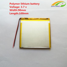 3.7V thium polymer battery / 6090100/0690100 / 4000mAh handheld tablet battery / PAD Battery