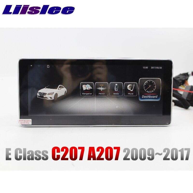 Liandlee Car Multimedia Player NAVI For Mercedes Benz MB E Class C207 2009~2017 Original Car Style Radio GPS Map Navigation 1