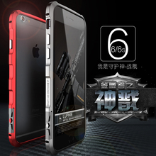 LUPHIE New Design I6S Aluminum Metal Frame Bumper For Apple iPhone 6 6S 4.7 Ultra Slim Fundas For iPhone6 No Need Screw
