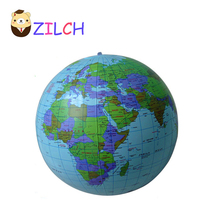 30CM Early Educational Inflatable Earth World Geography Globe Map Balloon Toy Beach Ball