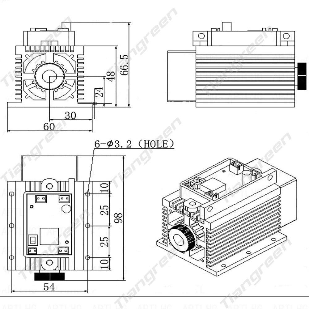 15w-laser-module