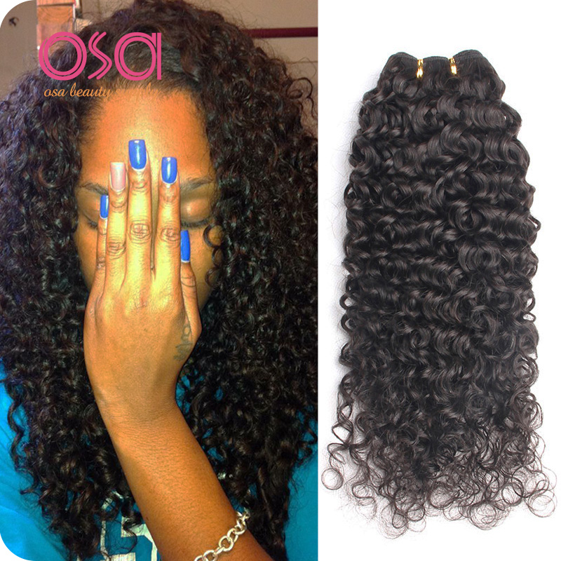 Good Cheap Indian Virgin Hair Curly Weave 4Pcs Lot Raw Indian Human Hair Bundles Afro Kinky Curly Tight Weave Virgo Hair Company<br><br>Aliexpress