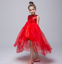 2017 summer girl dress tulle Sequin tutu dresses princess party wedding costume children Frocks vestidos For 2 4 6 8 10 12 Years