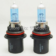 2 PCS 9004 100/80W  6500 k  Low Light Beam 12 v ultra white steam xenon bulbs Free transportation