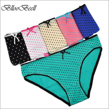 Buy BllooBeell 6pcs/lot Women's Cotton Panties Girl Briefs Cotton Underwear Bikini Underpants Sexy Ladies Briefs Free for $8.23 in AliExpress store