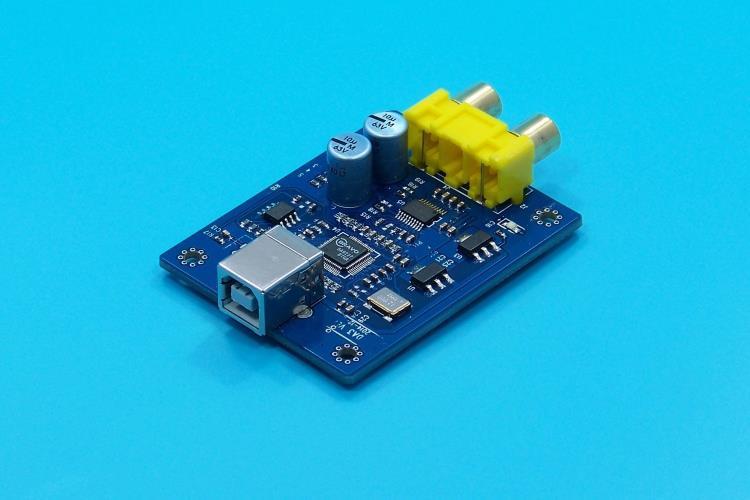 SA9227+PCM5102A 32BIT/384KHZ USB DAC/HIFI Asynchronous Decoder<br>