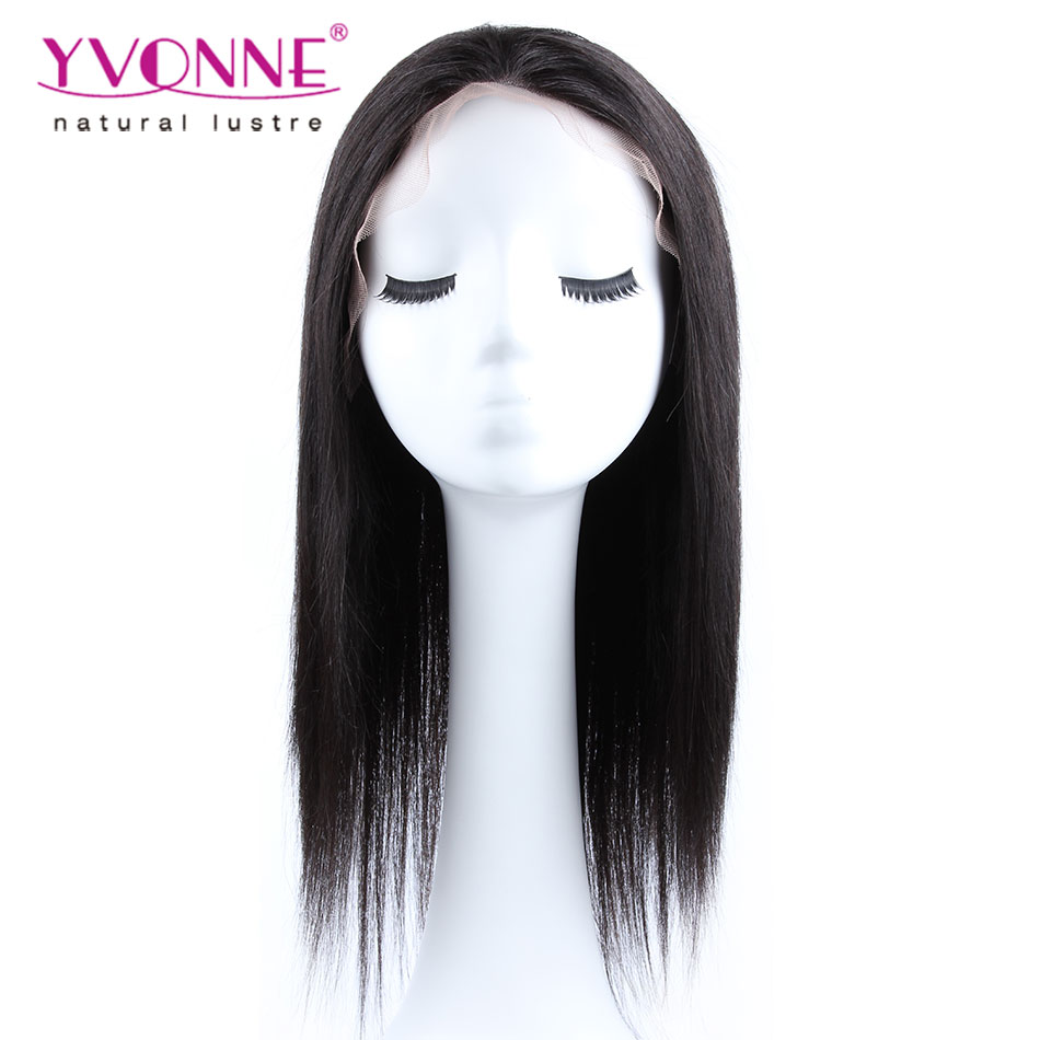 Hot Sale 15% OFF Natural Straight Brazilian Lace Front Wigs,Alixpress Yvonne Hair,100% Human Hair Wig,Womens Wig,Color 1B<br><br>Aliexpress
