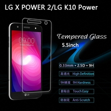 "Buy LG X power2 Tempered Glass Screen Protector Film LG X power2 power 2 LG K10 Power M320F M320N 5.5"" glass Protective Film for $1.99 in AliExpress store"