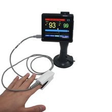 Table type oximer Display SPO2 Pulse Rate Oxygen Monitor CO2 Analyzer Table Digital Finger Pulse Oximeter With Oximeter Probe