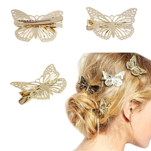 LNRRABC Hot Sale  Metal Butterfly Hair Clips  Headwear Hair Accessories for women  Free Shipping