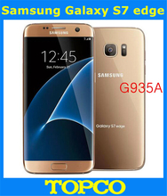 "Samsung Galaxy S7 Edge G935A AT&T Original Unlocked LTE Android Mobile Phone Octa Core 5.5"" 12MP RAM 4GB ROM 32GB Dropshipping"