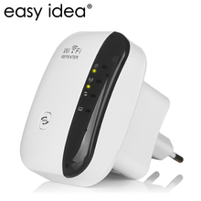 EASYIDEA Wireless Wifi Repeater 300Mbps Network Wifi Extender 802.11n/b/g Ethernet Wireless-N Signal Booster Repetidor
