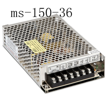 power supply 36v 150w 36v 4.2A power suply 150w 36v mini size led power supply unit ac dc converter ms-150-36(China)