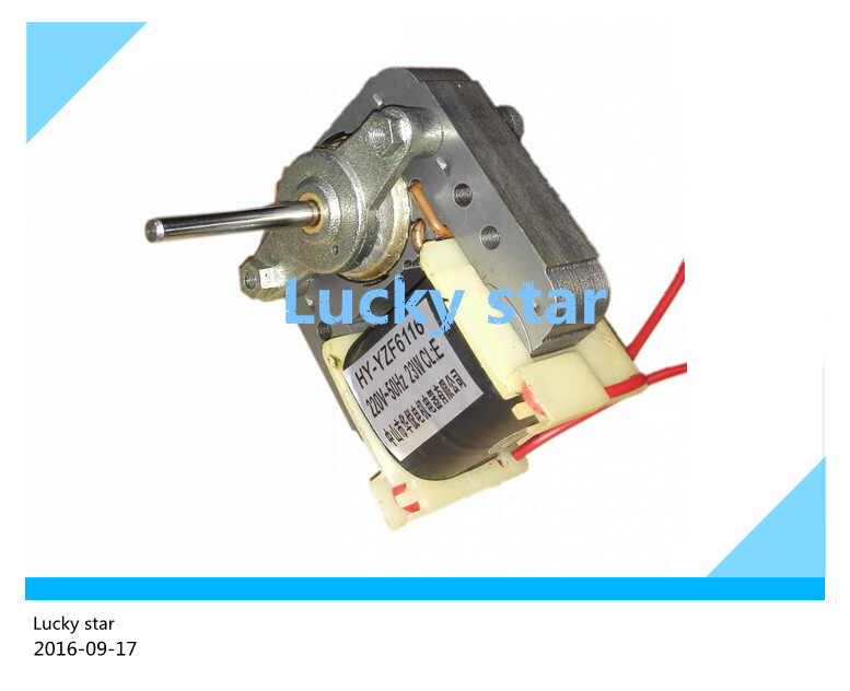 good working High-quality for refrigerator fan Motor 220V 23W HY-YZF6116 cooling fan motor<br><br>Aliexpress