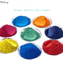 Natural Mineral Mica Powder DIY For Soap Dye Soap Colorant Shimmer Metallic makeup for Eyeshadow Powder Skin Care(China)