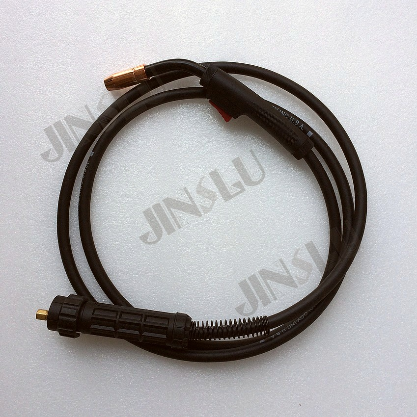 North Air Cooled MIG MAG Welding Torch NT-1 with Euro Connector,3M<br>