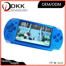 DHL FedEx delivery 8GB mp5 game player handheld game consoles support for psp game nes tetris free thousands classic mini game(China)
