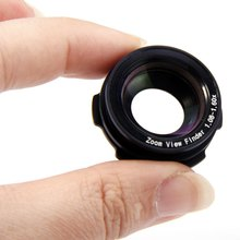 1.08 - 1.60X Zoom View Finder Eyepiece Magnifier for Sony Nikon Pentax Canon For Pentax Canon Nikon Sony Cameras