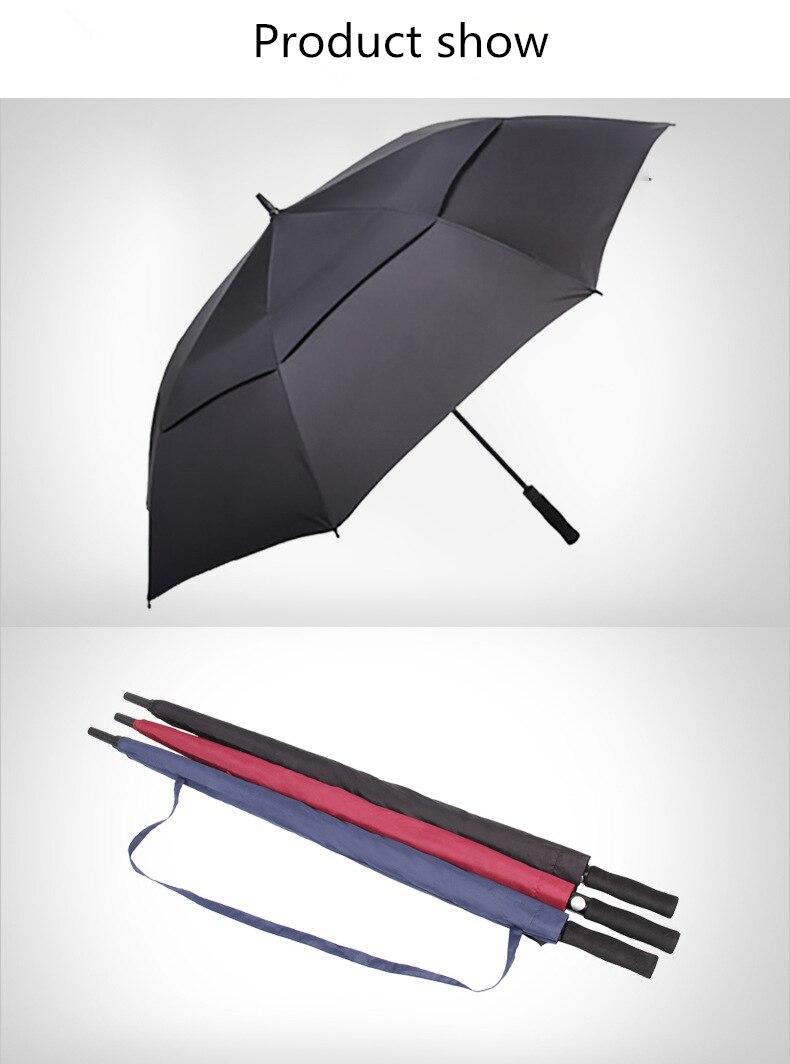NX Creative Large double layer golf umbrella 145cm to 150cm umbrella men windproof strong long umbrellas for men business (9)