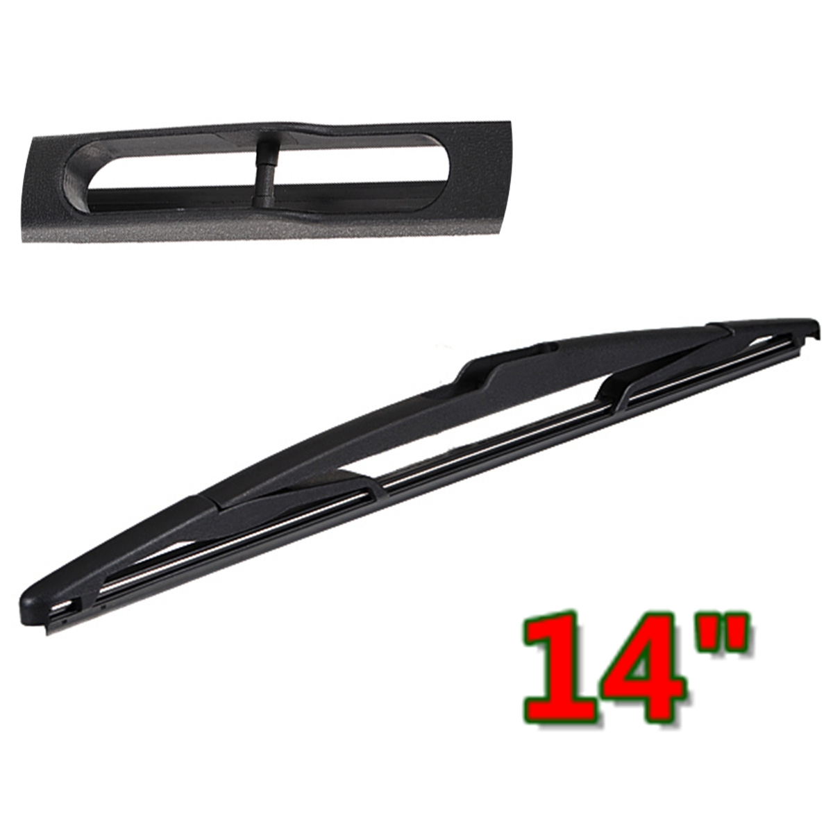 Rear Window Windshield Windscreen Wiper Blade 14 Inch For Peugeot 00-004 307 206(China)