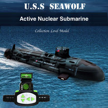 Highest Quality Seawolf RC Submarine Model Nuclear-Powered Submarine RC Remote Control Boat Charging children's Toys RC40-4