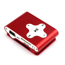 Hifi Mini Clip Metal USB MP3 Player Support Micro SD TF Card Music Media