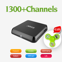 M8S Amlogic S812 Android Smart TV Box with Qhdtv Subscription Iptv Account Arabic Sport Canal Plus French 2GB IPTV Set Top Box