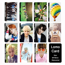 Youpop KPOP BTS Bangtan Boys YOUNG FOREVER Album LOMO Cards K-POP New Fashion Self Made Paper Photo Card HD Photocard LK400