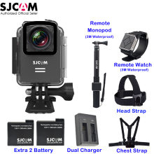 Original SJCAM M20 1.5'' Screen Wifi NTK96660 30M Waterproof Gyro Support Remote Sports Action Camera Car Mini DVR
