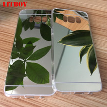 Buy LITBOY Clear Silicon TPU Mirror Case Samsung Galaxy S6 S6 Edge S8 S8 Plus S7 S7 Edge Case Luxury Ultra Thin Cover case P30 for $1.55 in AliExpress store