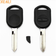 XIEAILI 10Pcs/lot For Blank Transponder Key Case Shell For Ford A78 Mercury Can Install Chip  (B)    S749
