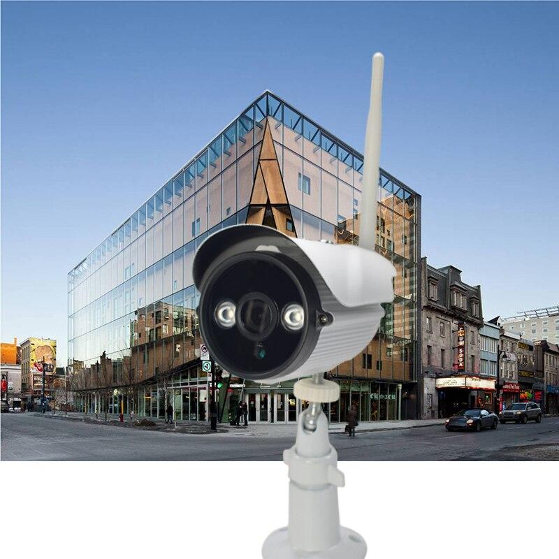 Seven Promise 960P Bullet IP Camera Wifi 1.3mp Motion Detection Outdoor Waterproof Mini White Webcam Surveillance Security CCTV<br>