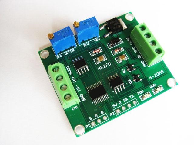 Weighing sensor amplifier 4-20ma/ sensor transmitter / weight transmitter / linear<br>
