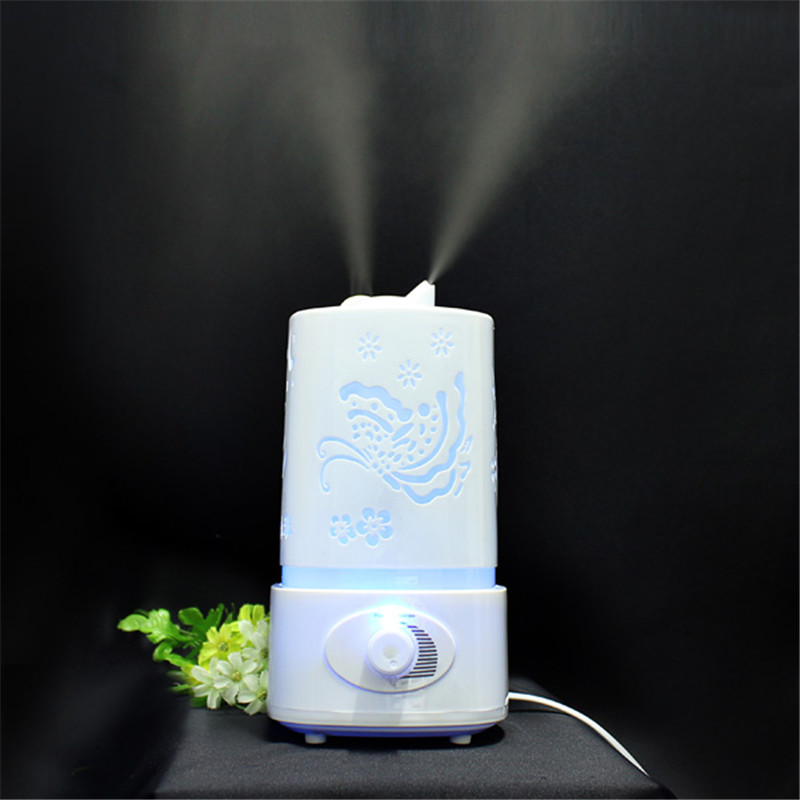1.5L 30W Ultrasonic Humidifier Home Aromatherapy Air Purifier Atomizer with LED Night Light  Mist Maker Essential Oil Diffuser<br><br>Aliexpress