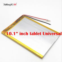 33100140 Universal Batterie Für Digma optima 10,6 3g TT1006MG/irbis tz172 Tablet Batterie innere 6000 mah 3,7 v polymer li-ion(China)