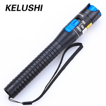 KELUSHI 1mW Plastics Fiber Optical Visual Fault Locator Red Laser Pen Testing Equipment with 2.5mm SC/ST/FC Connector