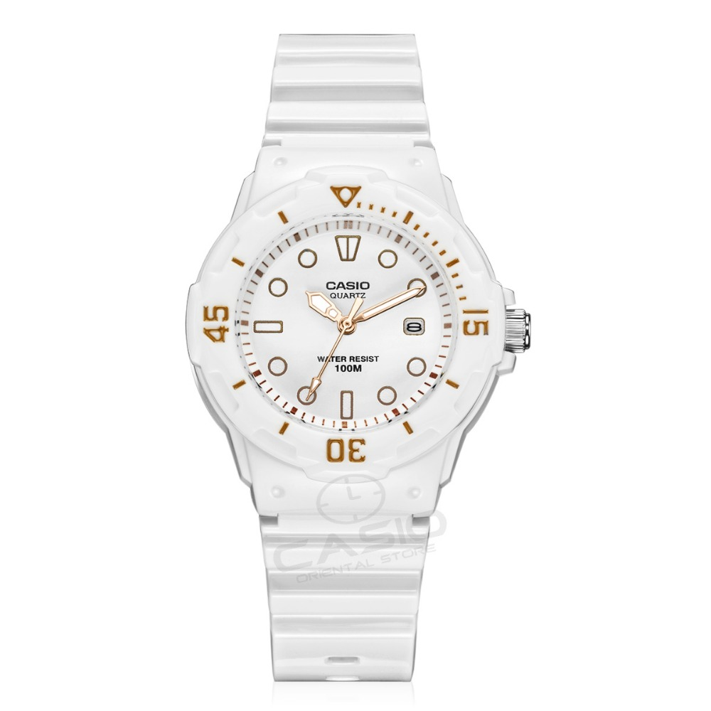 CASIO Watches Silicone Strap Sports Date day Women Lovers Couple Watches Waterproof gift relogio feminino table clock LRW-200H <br>