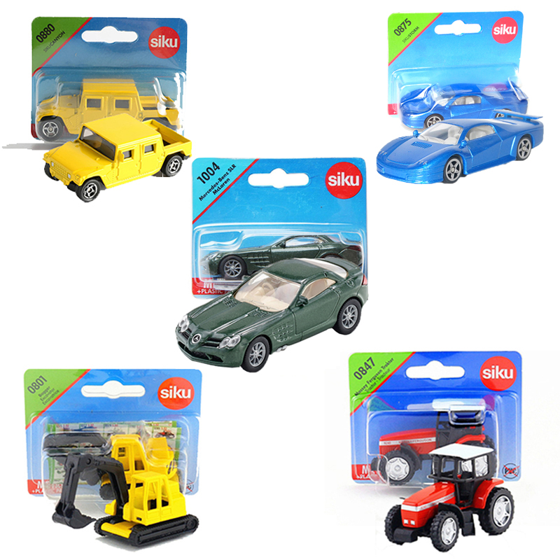 SIKU Alloy Simulation Car Toy Diecast Holland Trailer Truck Model Mini Engineering Transporter Truck Kids Toys Brinquedos Gifts