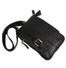 Men's Leather Snaps Hook Shoulder Messenger Pack Pouch Fanny Waist Bag New Wallet Multipurpose