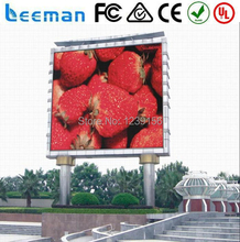www.ledmandisplay.cc Leeman waterproof and full color DIP or SMD P10,commercial outdoor advertising sign LED Display,panel
