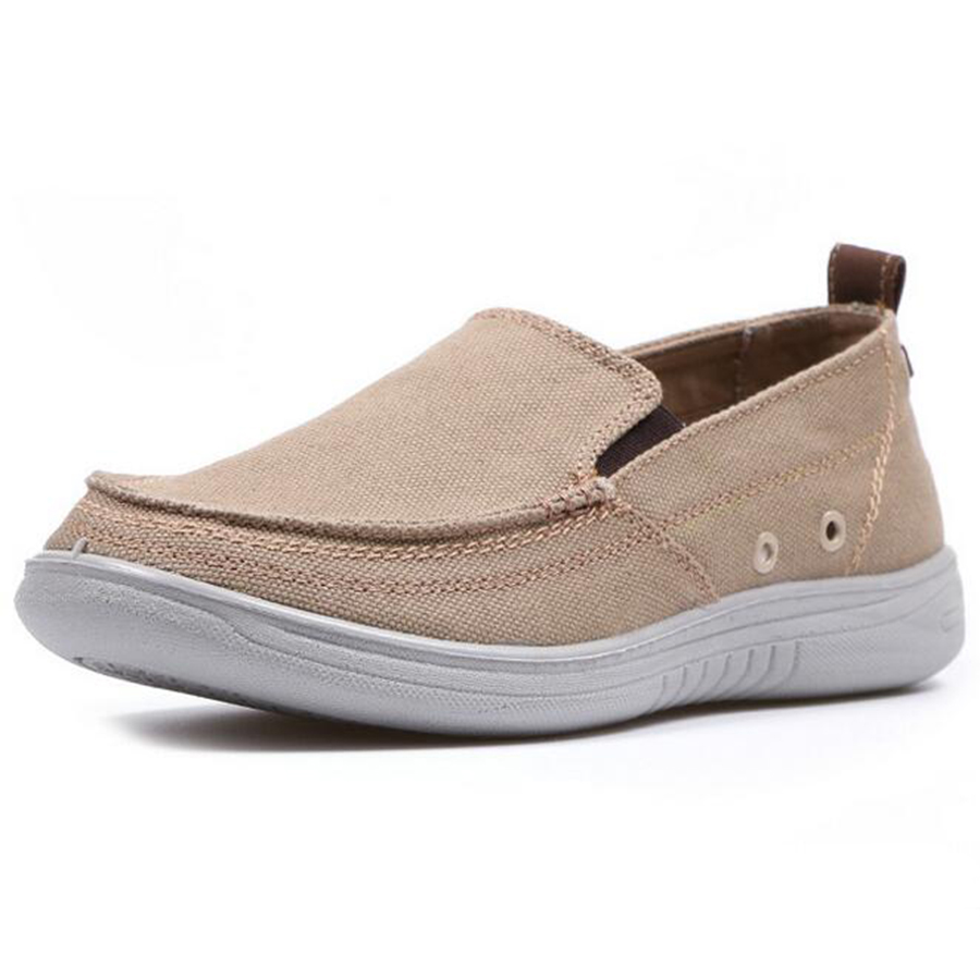2017 new fashion men canvas lazy shoes breathable casual shoes man loafters comfortable soles size 44 zapatos  hombres <br><br>Aliexpress