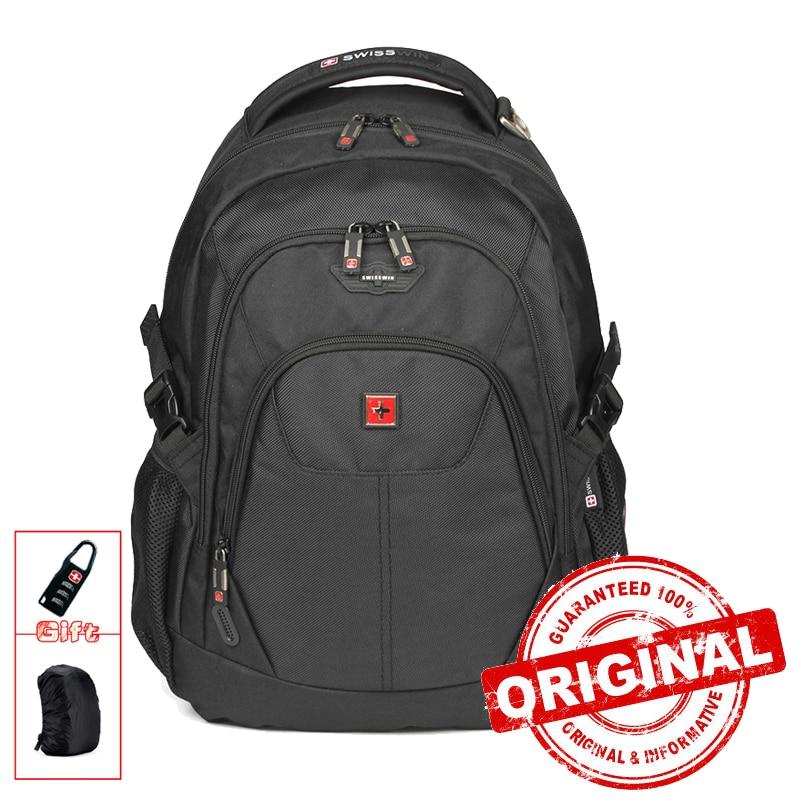 Swisswin Mens Backpack Waterproof Laptop Backpack Bag With Tablet Pocket Backpack For Teenagers Rucksack travel Backpack SW9039<br>