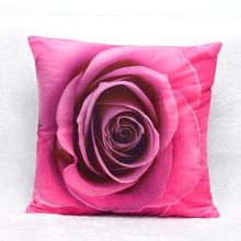 Super Deal 3D Flower Print Sofa Bed Home Decoration Festival  Cushion
