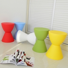 living room game stool boy girl children red yellow blue toy stool