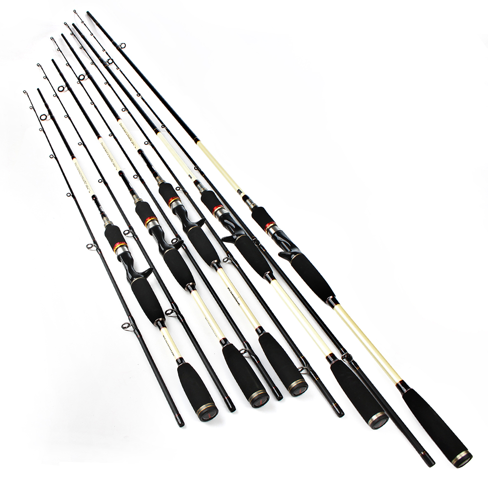 99% Carbon Hard 1.8m 2.1m 2.4m 2.7M 3M 2 Section Fishing Lure Rod Baitcasting Rod Olta Canne A Peche Pesca Acesorios<br><br>Aliexpress