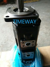 High pressure triple pump hydraulic gear oil pump(China)