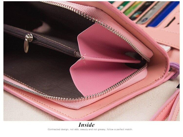 HTB1Fq5ZSFXXXXcGXpXXq6xXFXXX1 - 2018 new fashion women wallet leather brand wallets women wholesale lady purse High capacity clutch bag for women gift