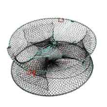 High quality Crab Fish Crayfish Lobster Shrimp Prawn Eel Live Trap Net Bait Fishing Pot Cage